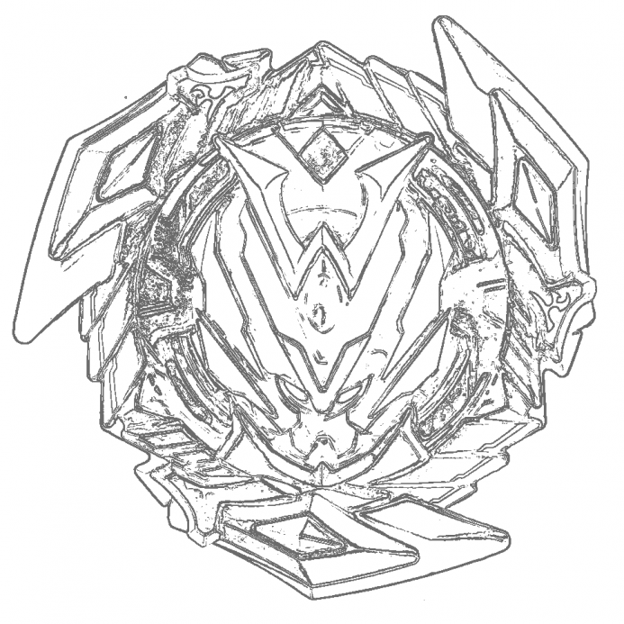 Beyblade Burst Coloring Pages Ideas