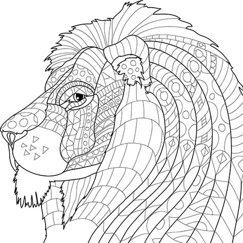 - Adult Coloring Pages Animals Collection - Whitesbelfast