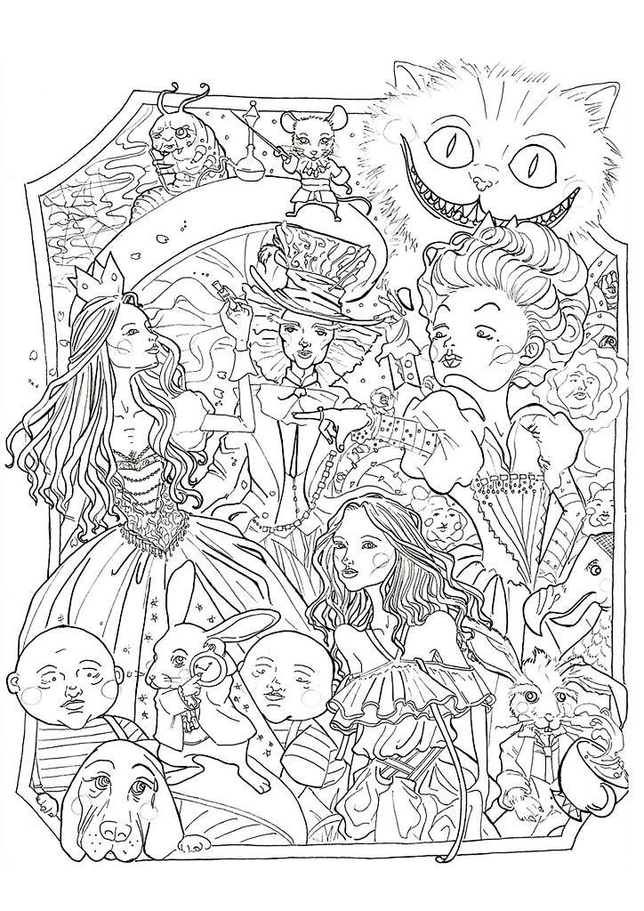 Disney Coloring Pages For Adults Pictures - Whitesbelfast.com