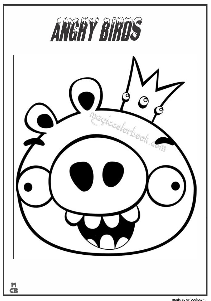 Angry Bird Coloring Pages Collection Whitesbelfast Com