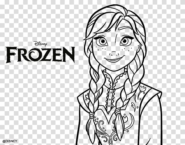 Frozen Coloring Pages - 6 free Disney printables for kids to color ... | 470x600