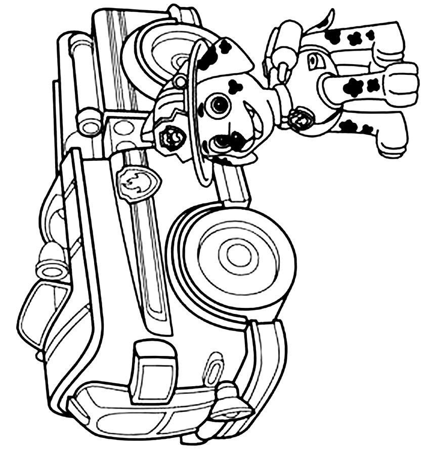 coloring pages paw patrol collection  whitesbelfast