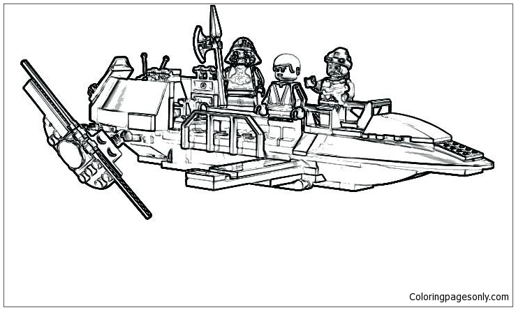 Star Wars Clone Trooper Coloring Pages. lego star wars coloring ... | 444x739