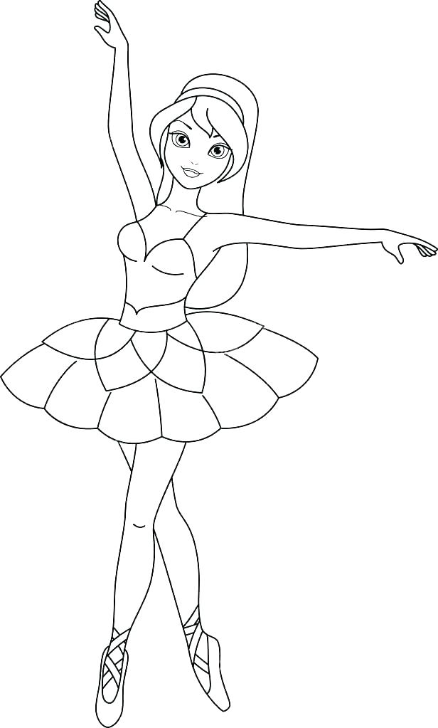 Ballet Coloring Pages Gallery - Whitesbelfast