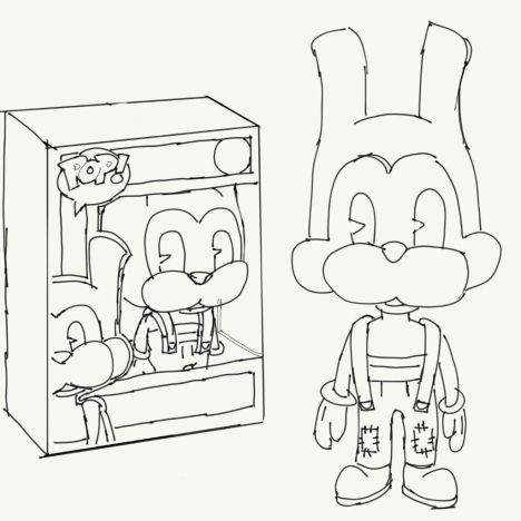 - Bendy And The Ink Machine Coloring Pages Idea - Whitesbelfast