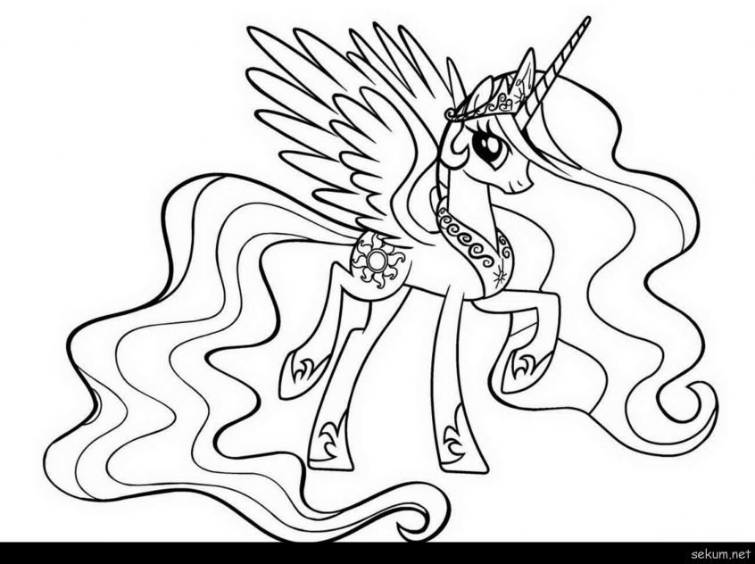 - Princess Celestia Coloring Pages Pictures - Whitesbelfast