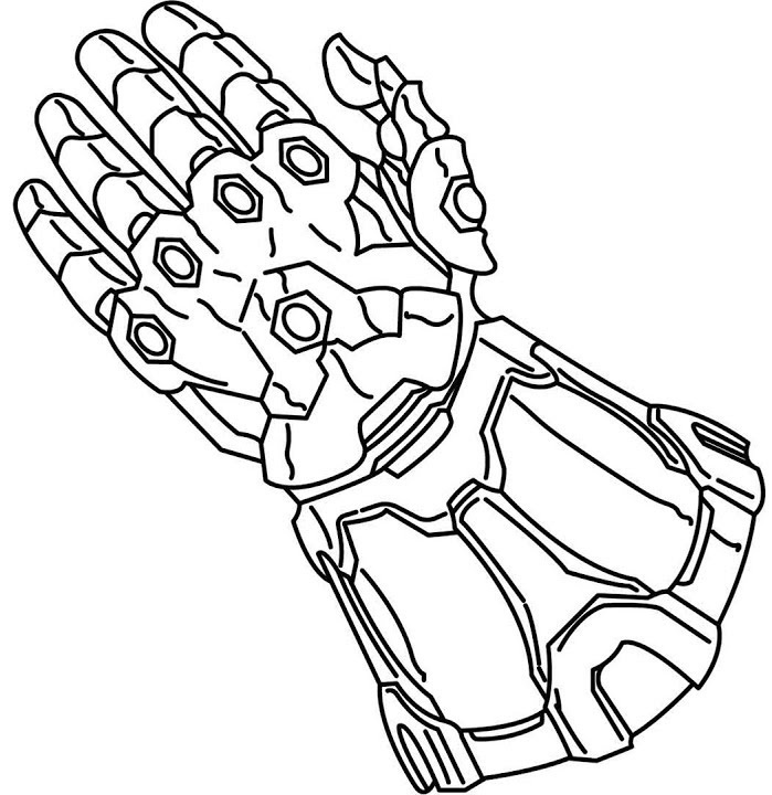 Infinity War Coloring Pages Collection Whitesbelfast