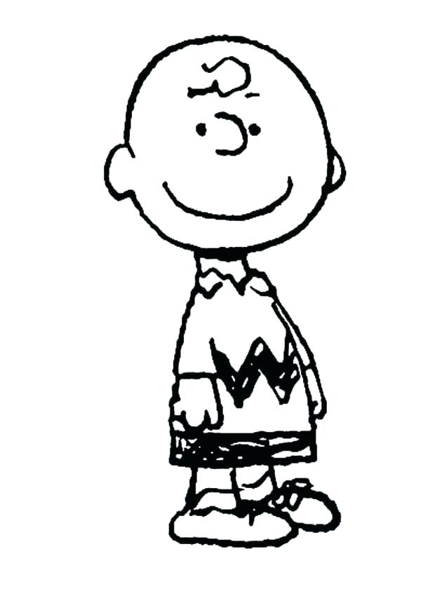 Charlie Brown Coloring Pages Pictures Whitesbelfast Com