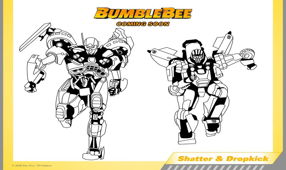 Bumblebee Coloring Page - Free Teen Titans Go! Coloring Pages ... | 570x960