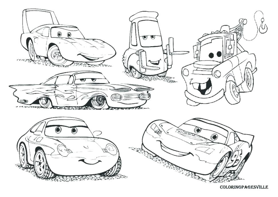 Lightning Mcqueen Coloring Pages Picture - Whitesbelfast.com