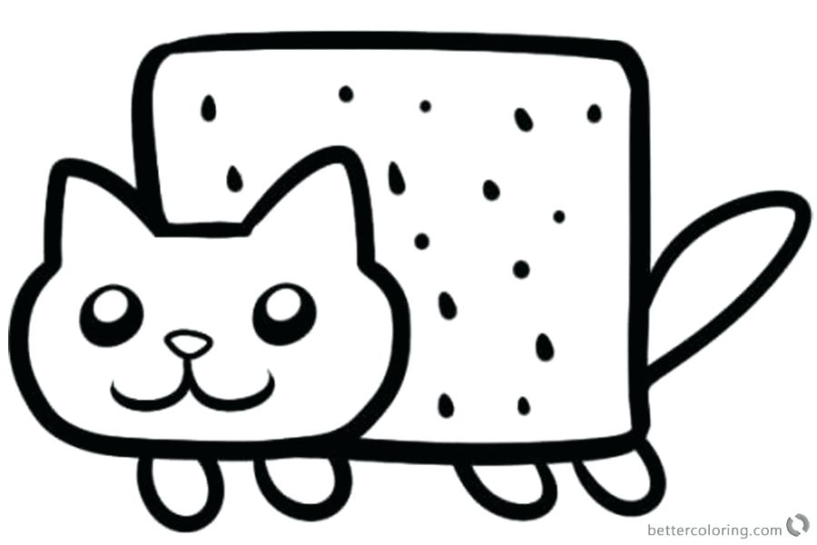 Free Free Kitty Cat Coloring Pages, Download Free Clip Art, Free ... | 600x900