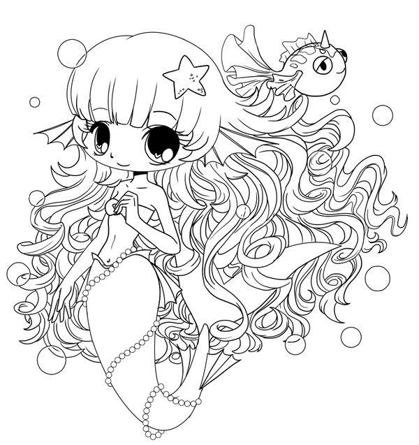 Chibi Coloring Pages Collection