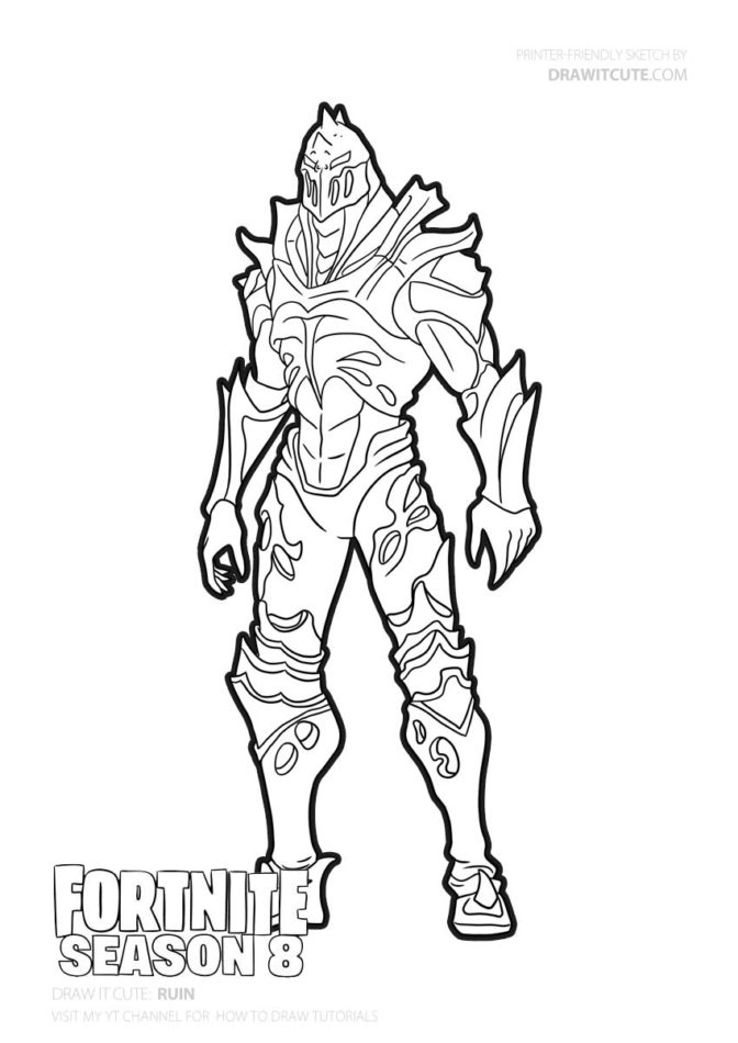 fortnite coloring pages gallery  whitesbelfast