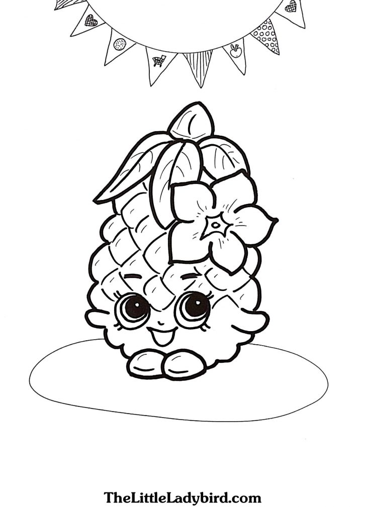 Free Shopkins Coloring Pages Pictures Whitesbelfast Com