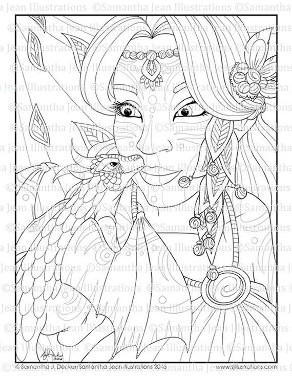 Fantasy Coloring Pages For Adults Collection Whitesbelfast Com