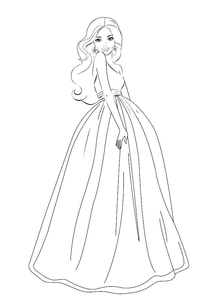 Fashion Coloring Pages Gallery Whitesbelfast