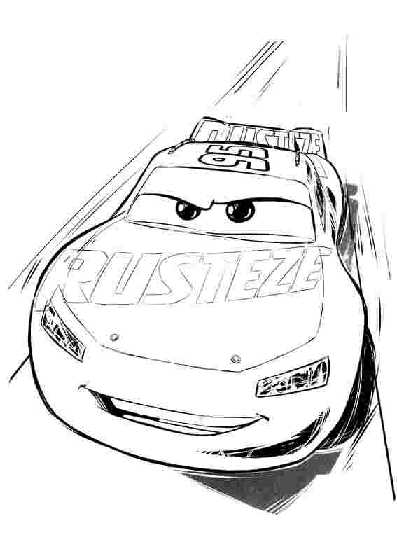 Cars 3 Coloring Pages Ideas Whitesbelfast