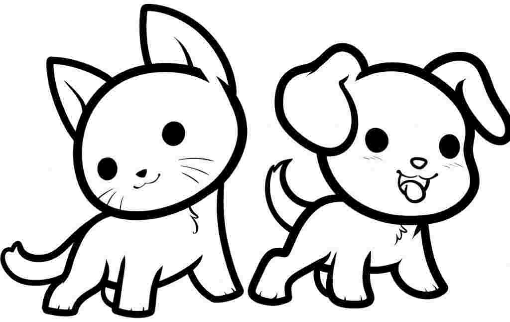 Cute Animal Coloring Pages Idea Whitesbelfast