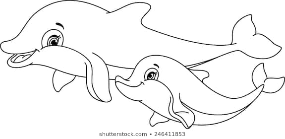 - Dolphin Images For Coloring Www.tuningintomom.com