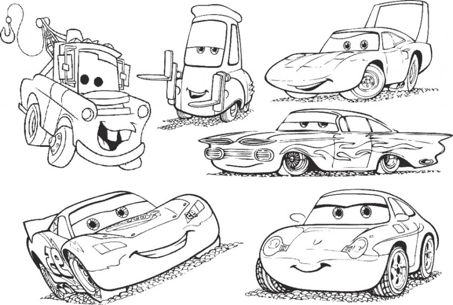 Cars 3 Coloring Pages Ideas - Whitesbelfast