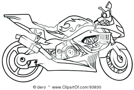 Motorcycle Coloring Pages Ideas - Whitesbelfast