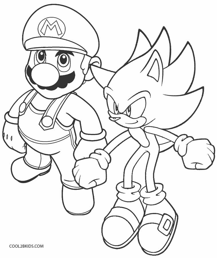 Sonic Coloring Pages Ideas Whitesbelfast