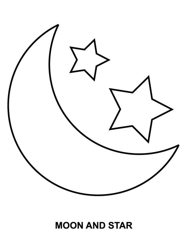 - Moon Coloring Pages Pictures - Whitesbelfast