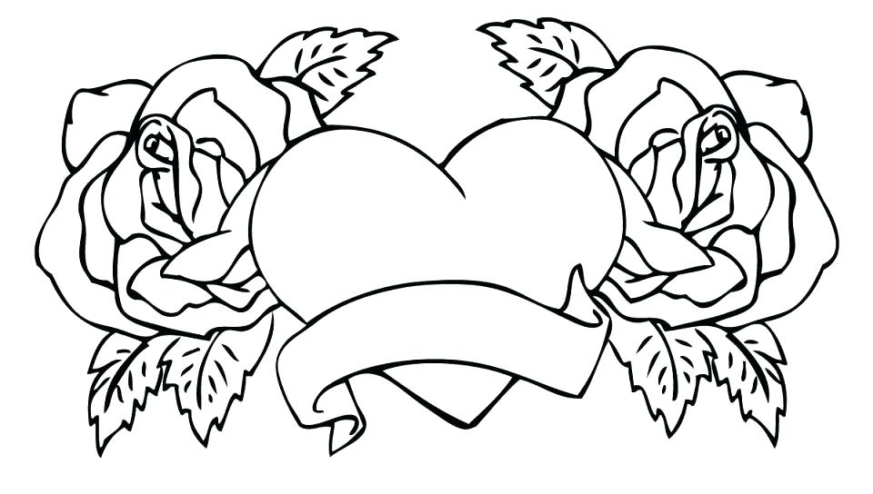 - Rose Coloring Pages Pictures - Whitesbelfast
