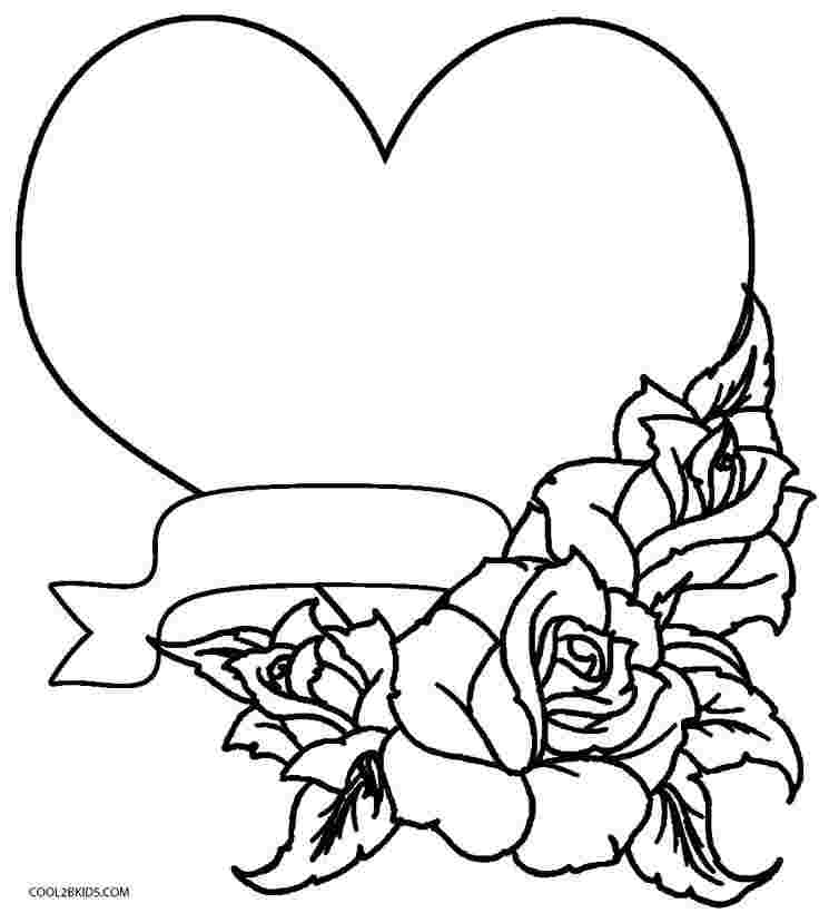 Rose Coloring Pages Pictures - Whitesbelfast.com