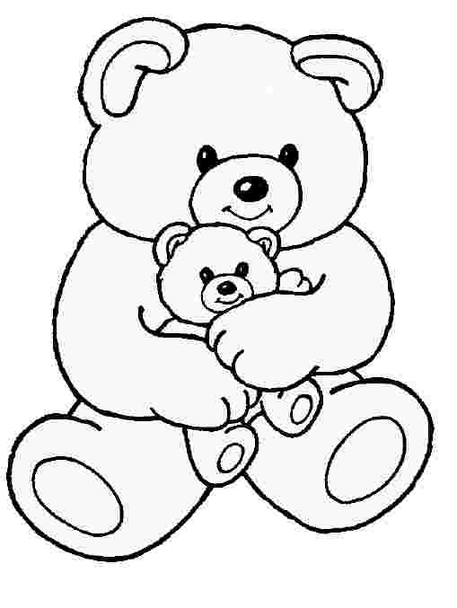 Teddy Bear Coloring Pages Picture Whitesbelfast Com