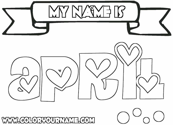 - Name Coloring Pages Pictures - Whitesbelfast