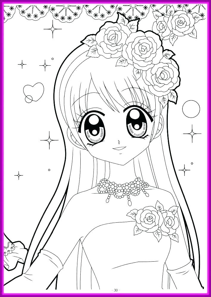 Cute Girl Coloring Pages Idea - Whitesbelfast