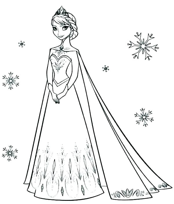 Free Princess Coloring Pages Collection Whitesbelfast Com