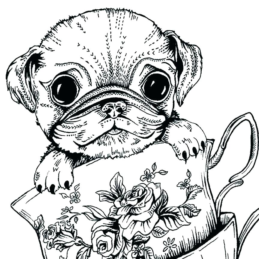 Free Dog Coloring Pages Free Coloring Pages Dogs Wuming - birijus.com | 863x863