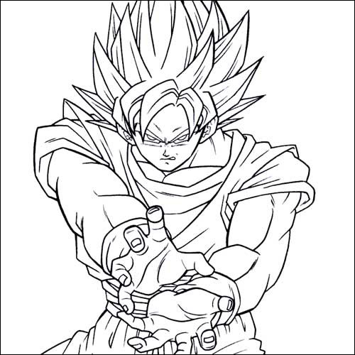 - Dragon Ball Coloring Pages Collection - Whitesbelfast
