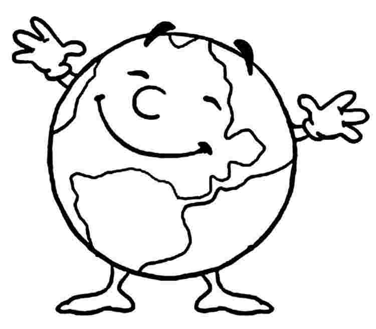 Earth Coloring Pages Picture Whitesbelfast