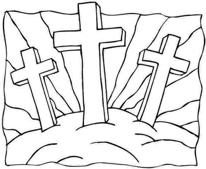 Religious Easter Coloring Pages Pictures - Whitesbelfast.com