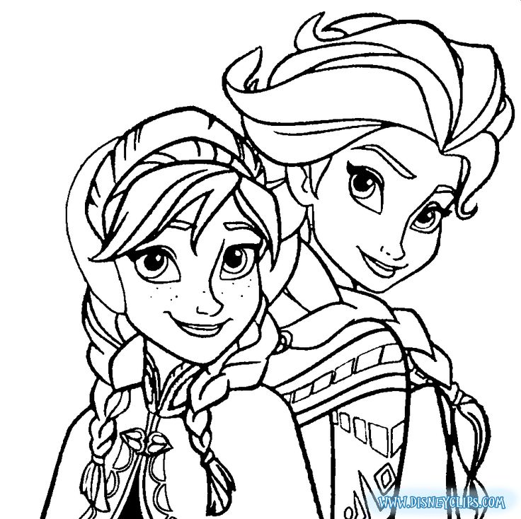 - Elsa And Anna Coloring Pages Picture - Whitesbelfast