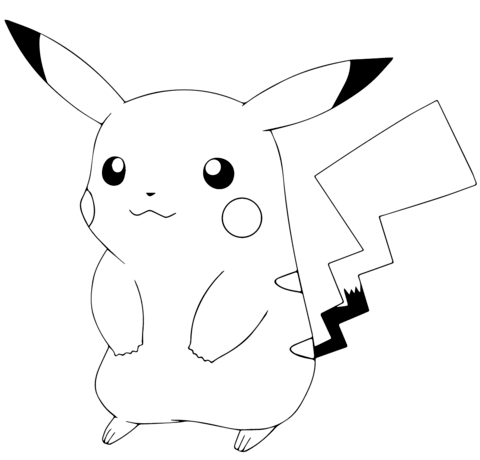 Pokemon Coloring Pages Pikachu Collection Whitesbelfast Com
