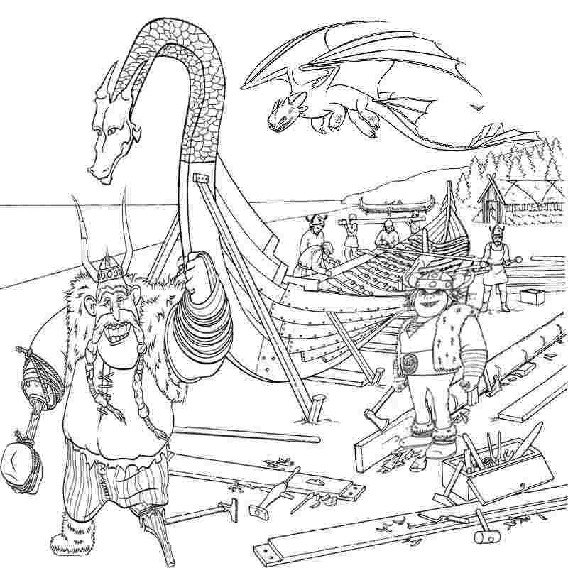 How To Train Your Dragon 3 Coloring Pages Ideas Whitesbelfast Com