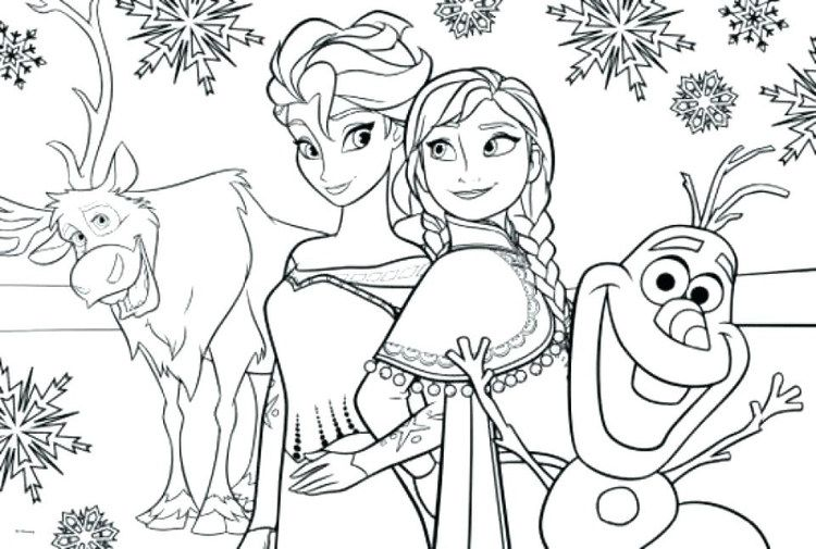 Elsa Coloring Pages Collection - Whitesbelfast