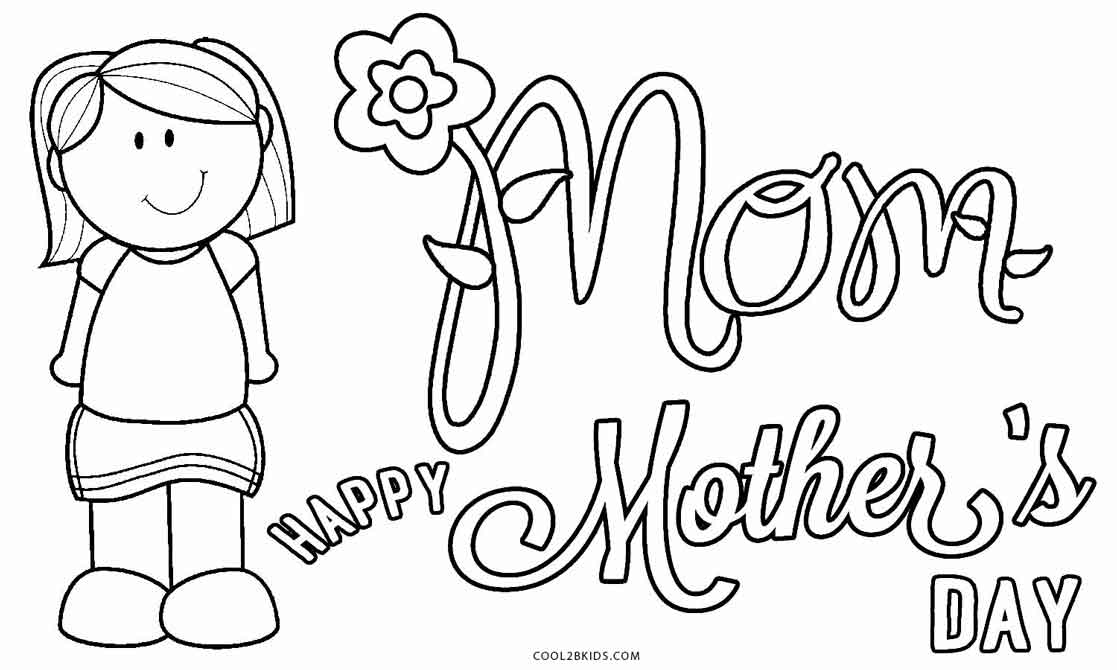 Mothers Day Coloring Pages Ideas Whitesbelfast