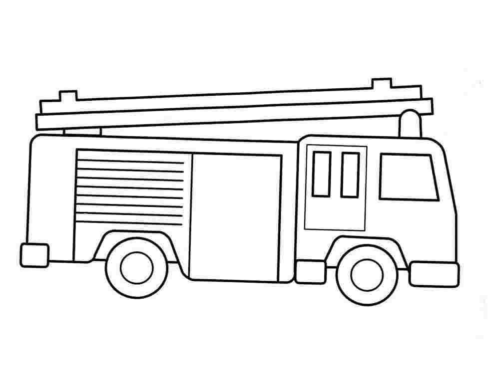 - Fire Truck Coloring Pages Idea - Whitesbelfast
