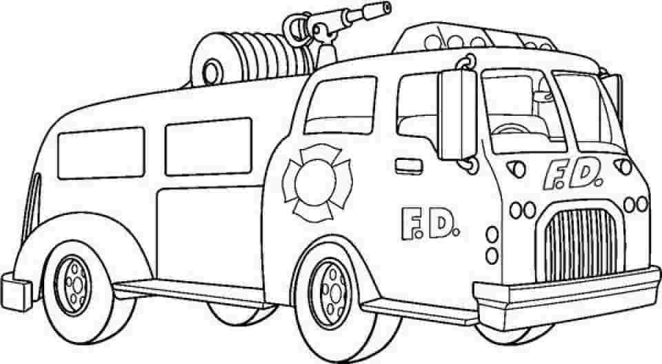 Top 25 Free Printable Truck Coloring Pages Online   528x960