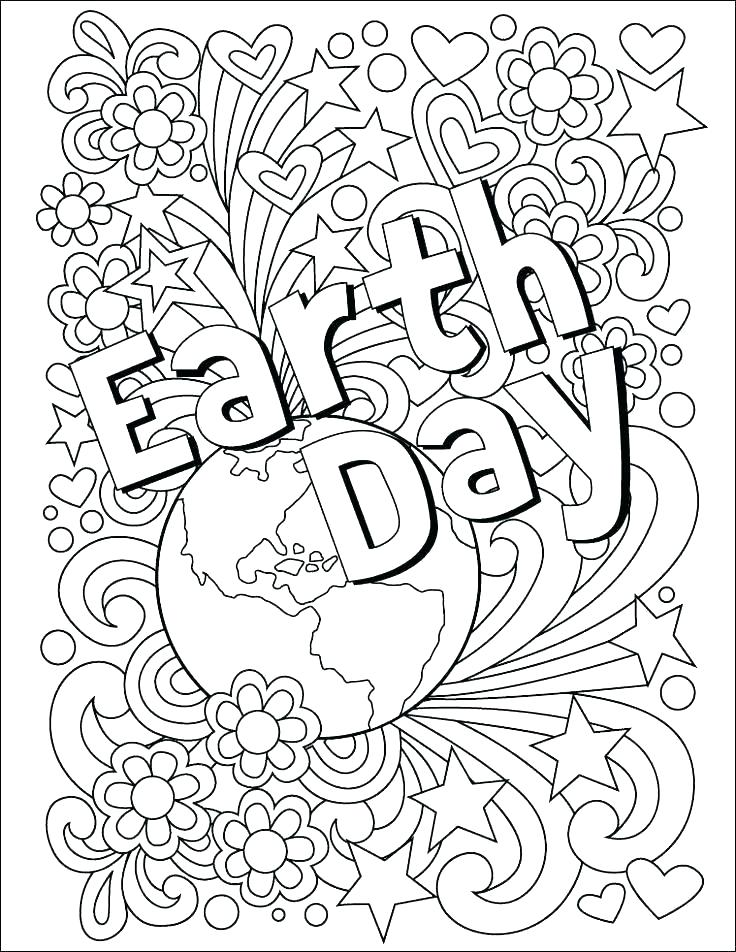 Earth Day Coloring Pages Idea - Whitesbelfast.com