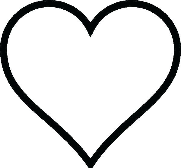 - Heart Coloring Pages Idea - Whitesbelfast