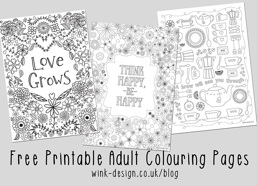 Adult Coloring Pages Quotes Ideas And Designs - Whitesbelfast.com