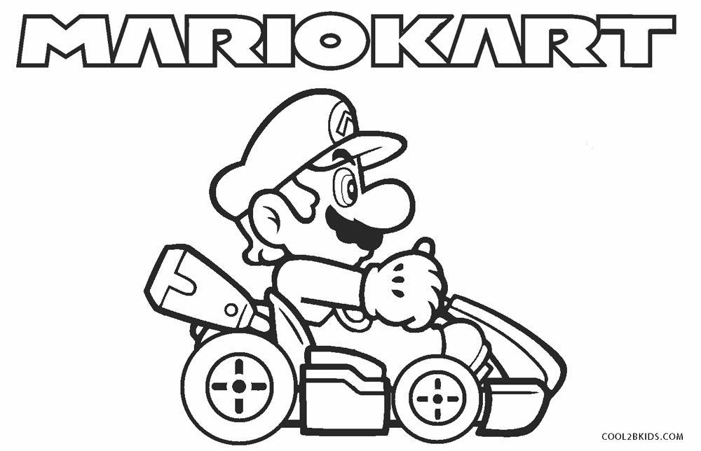 Mario Coloring Pages Collection - Whitesbelfast