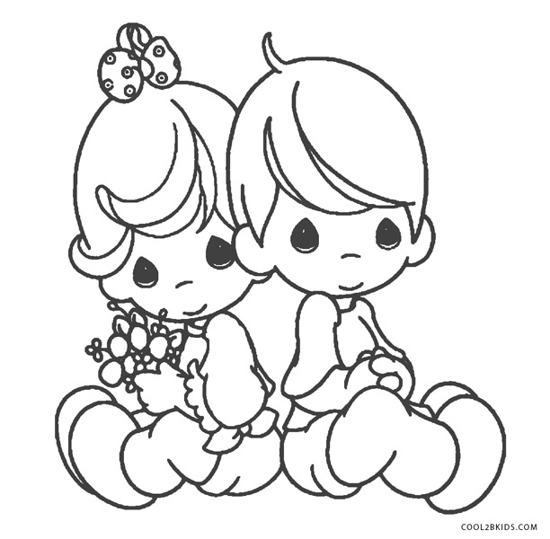 Precious Moments Coloring Pages To Print Www.robertdee.org