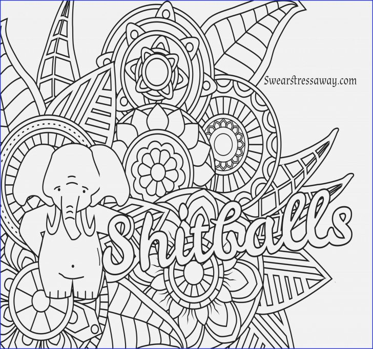 Printable Cuss Word Coloring Pages Collection For Adults - Whitesbelfast.com